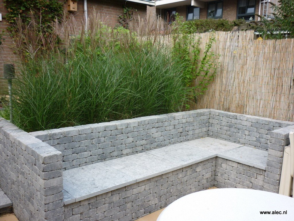 Rieten schutting loungeset 2017 for Schutting tuin