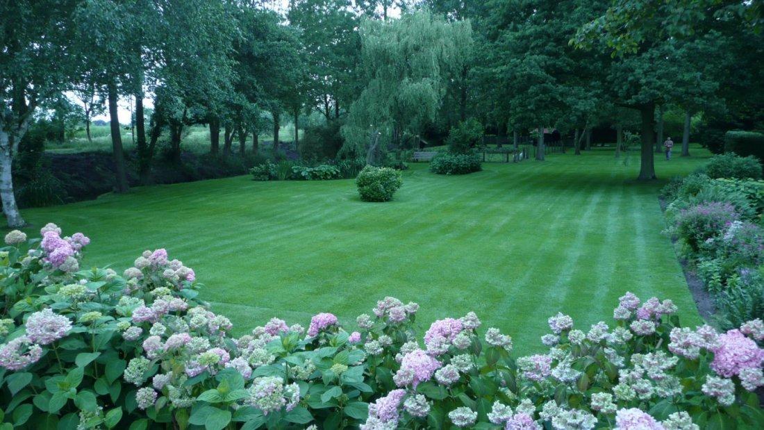 Simpel maar mooie grote tuin - Tuin fotos ...