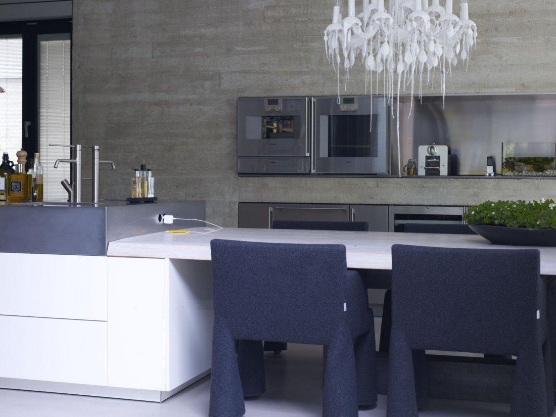 Modern interieur met beton for Beton interieur