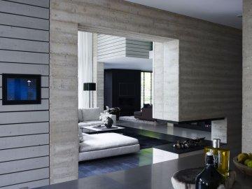 Interieur inspiratie in de stijl modern - Interieur moderne inspirant piliers en beton ...
