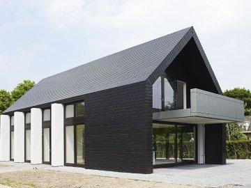 Idee n en inspiratie voor je gevel for Terras modern huis