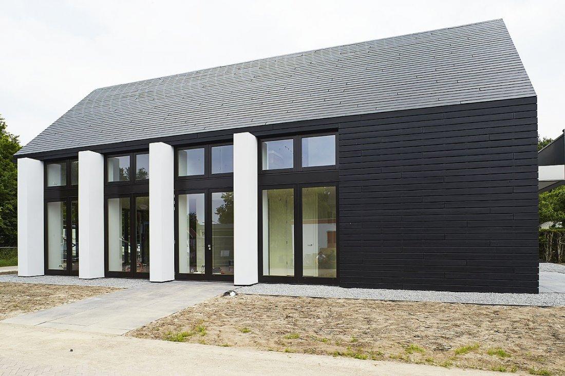 Modern huis for Moderne huis foto