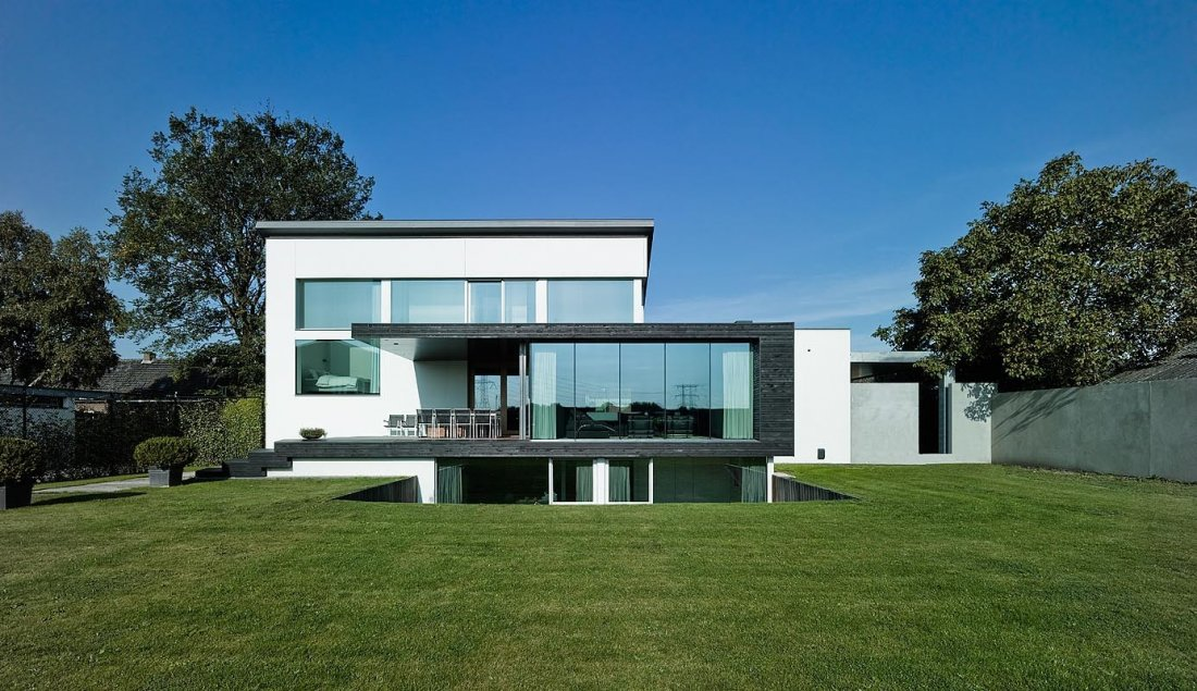 Modern huis design interieur - Modern stenen huis ...