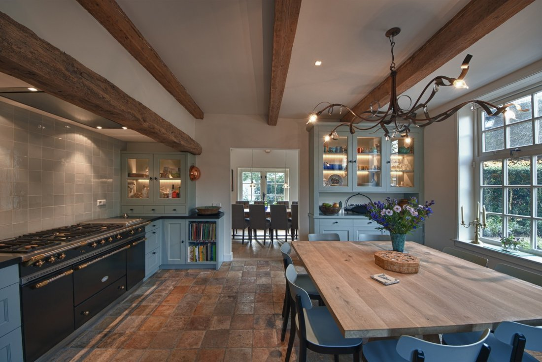 Woonkamer plank wit - Chique keuken ...
