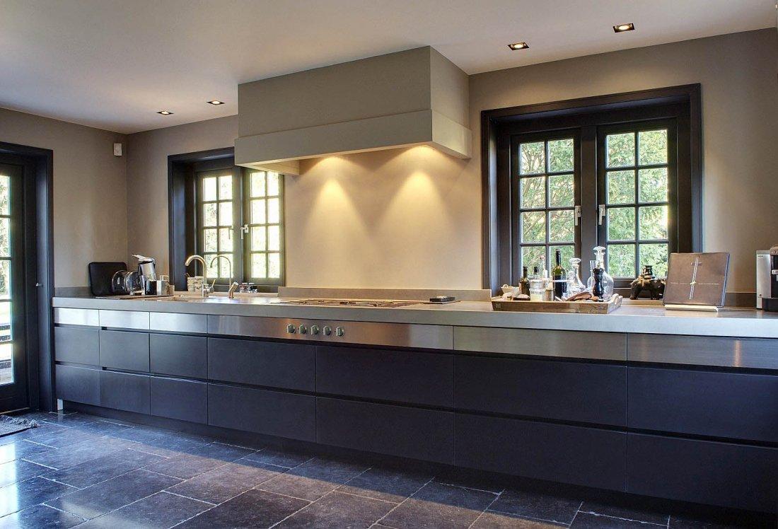 Strakke moderne keuken walhalla