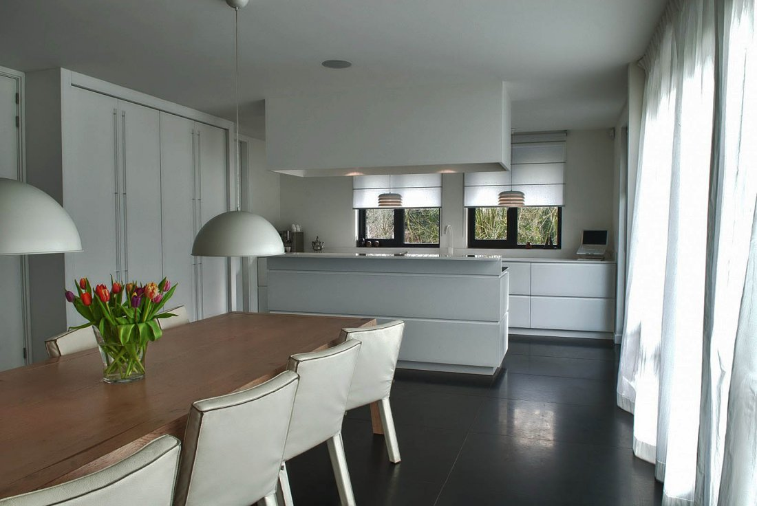Witte design keuken - walhalla.com