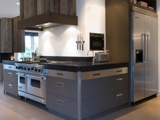 Stoere keuken ideeen - Open keuken idee ...