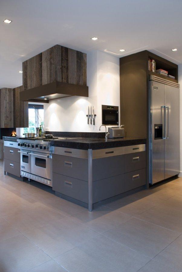 Stoere open keuken - Keuken open concept ...