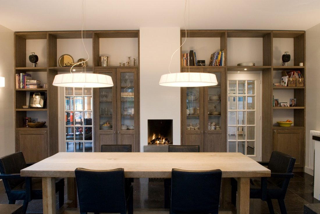 Eetkamer Keuken Open : Rustige keuken met veel buitenlicht walhalla.com