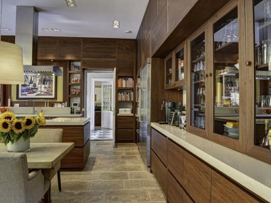 Interieur inspiratie in de stijl karakteristiek - Open keuken op verblijf ...