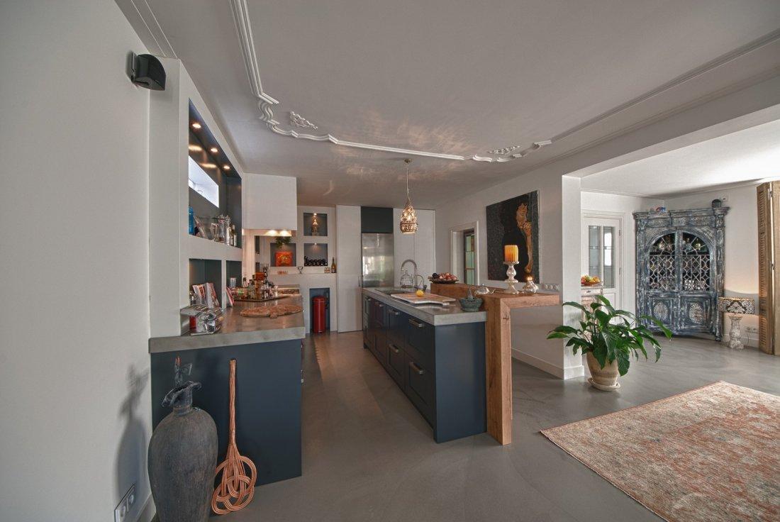 Woonkamer inrichten donkere vloer: woonkamer vloer rbn ...