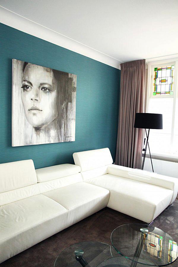 Volledig herinrichten van appartement rijswijk for Herinrichten woonkamer