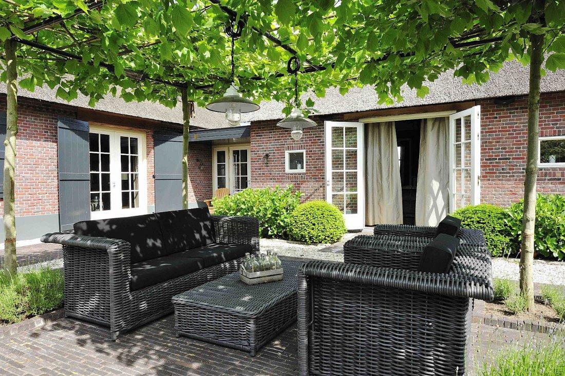 Klassieke tuin - Schaduw maken ...
