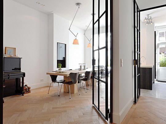 Interieur inspiratie in de stijl modern - Eigentijdse eettafel ...