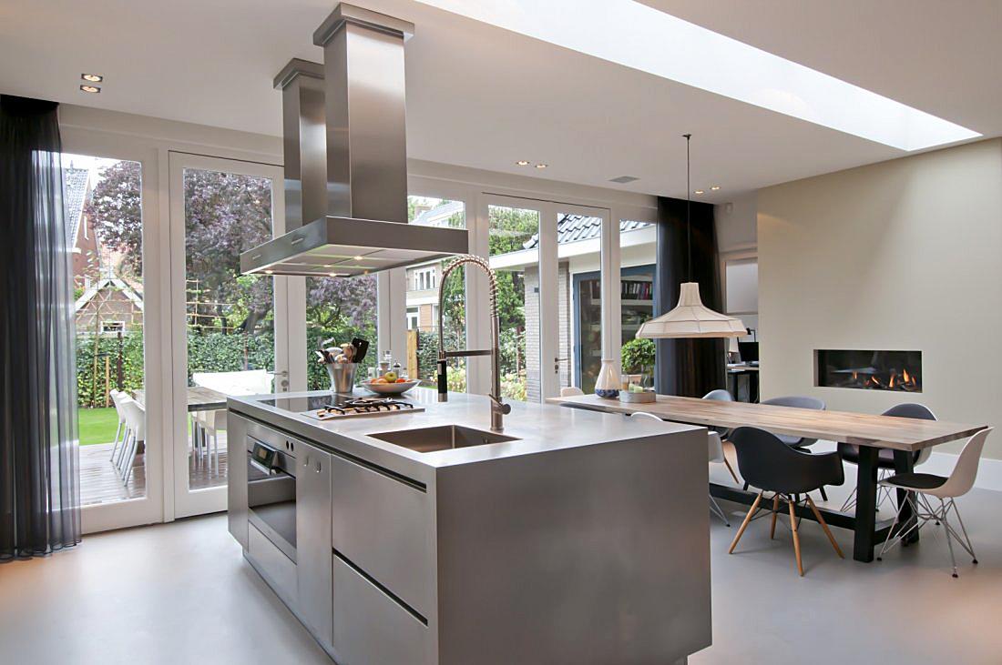 Keuken Uitbouw Design : Uitbouw aan achterzijde jaren woning walhalla