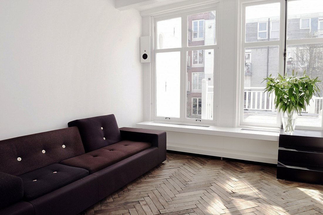 Grachtenpand met modern interieur for Interieur modern