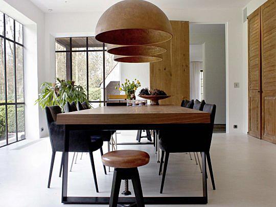 Idee n en inspiratie voor je eetkamer for Eetkamerstoelen landelijk interieur