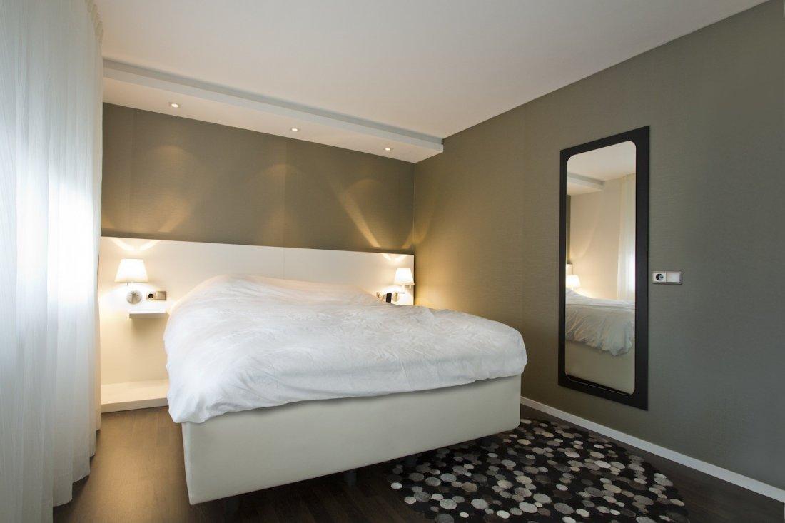 Verbouw en inrichting slaapkamer for Inrichting slaapkamer