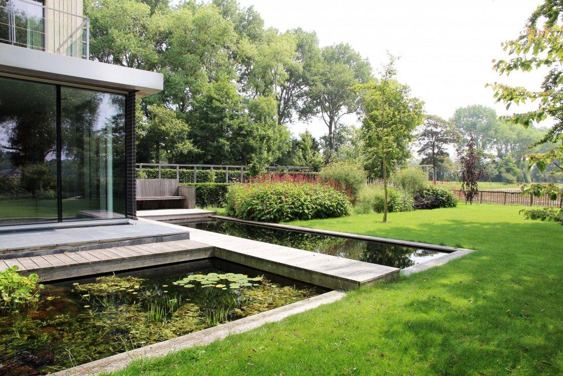Moderne landelijke tuin - Moderne tuin foto ...