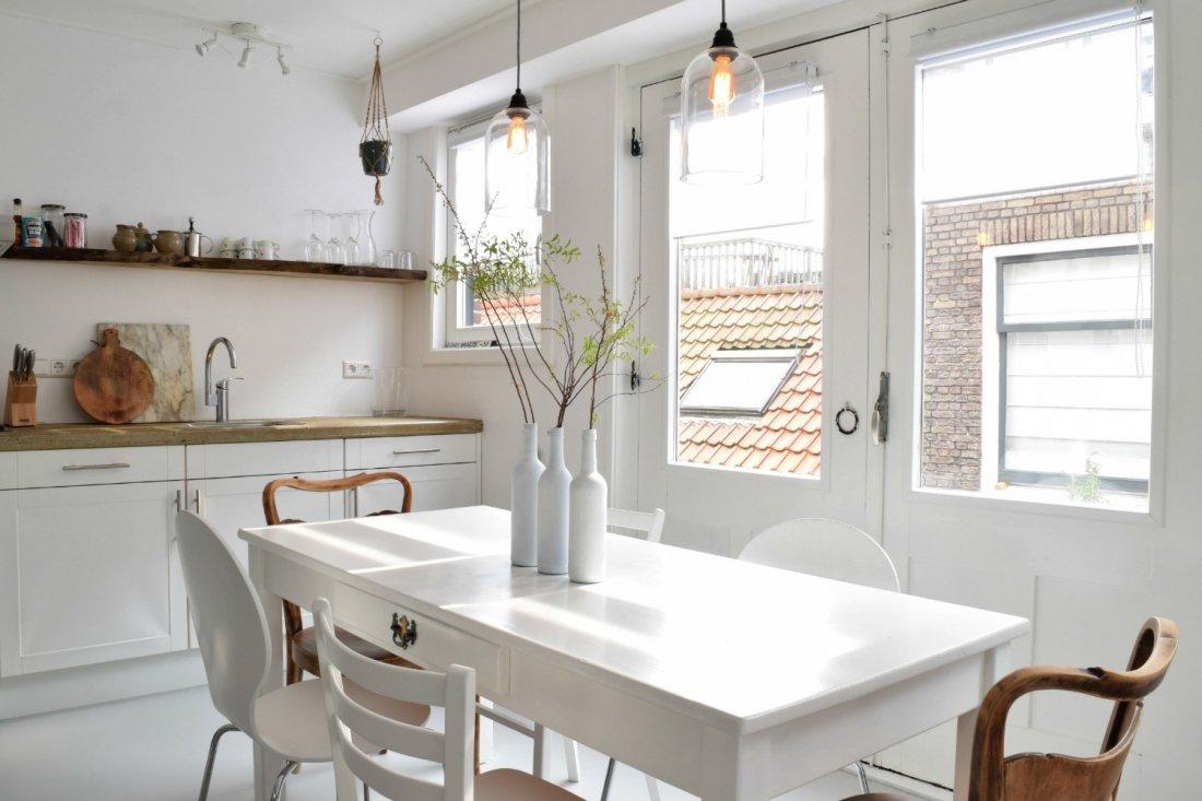Appartement tbv verhuur haarlem - Winkel raam keuken ...
