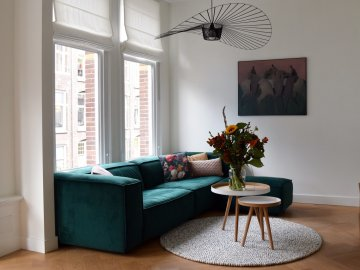 Dubbele bovenwoning in Amsterdam