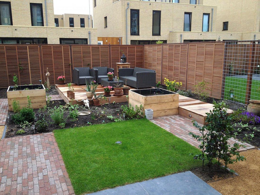 Moderne tuin met afrikaanse invloeden - walhalla.com